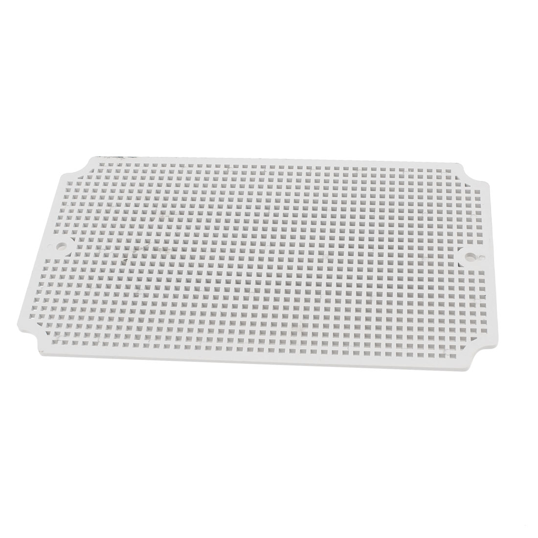 Gray Plastic Mesh Enclosure Mounting Plate for 250 x 150mm Junction Box