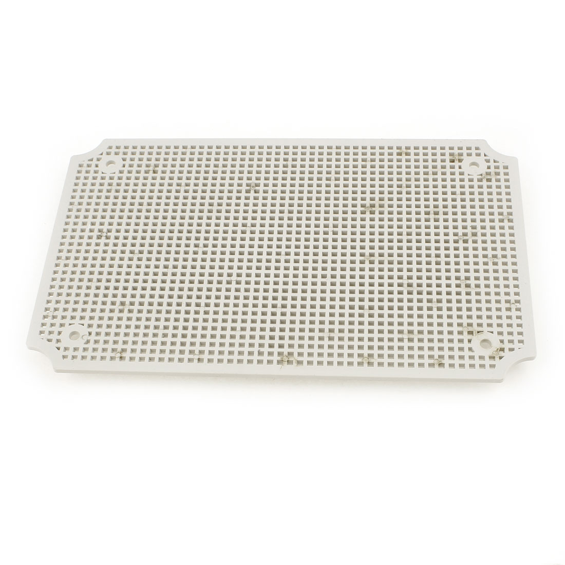 Gray Plastic Mesh Enclosure Mounting Plate for 280 x 190mm Junction Box