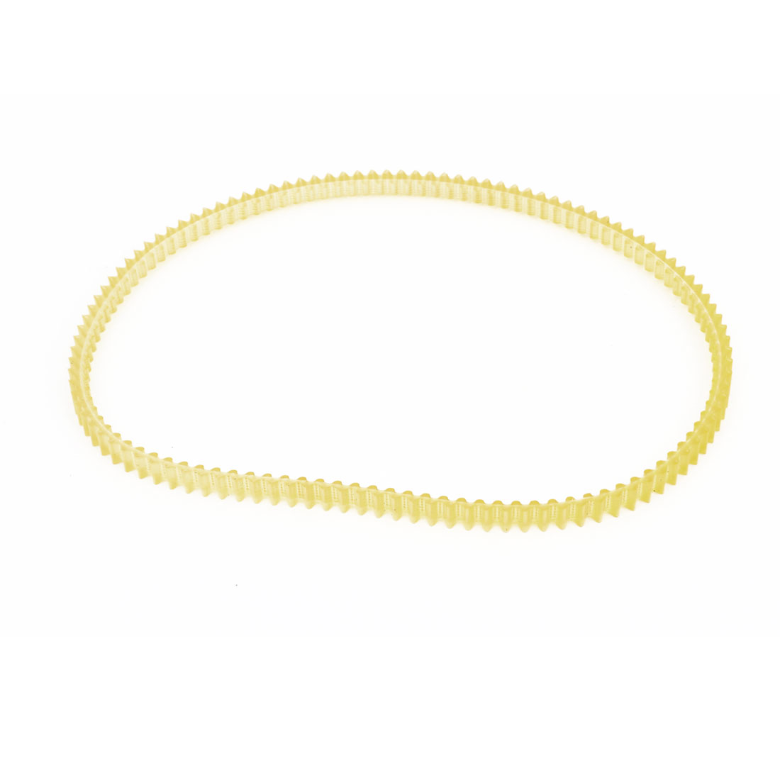 2mm Pitch 400mm Girth Double Sided Engine PU Timing Belt Yellow