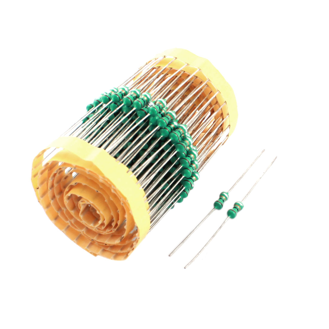 200Pcs Electronic Component 1/2W 1uH 10% Color Ring Inductors 4x10mm