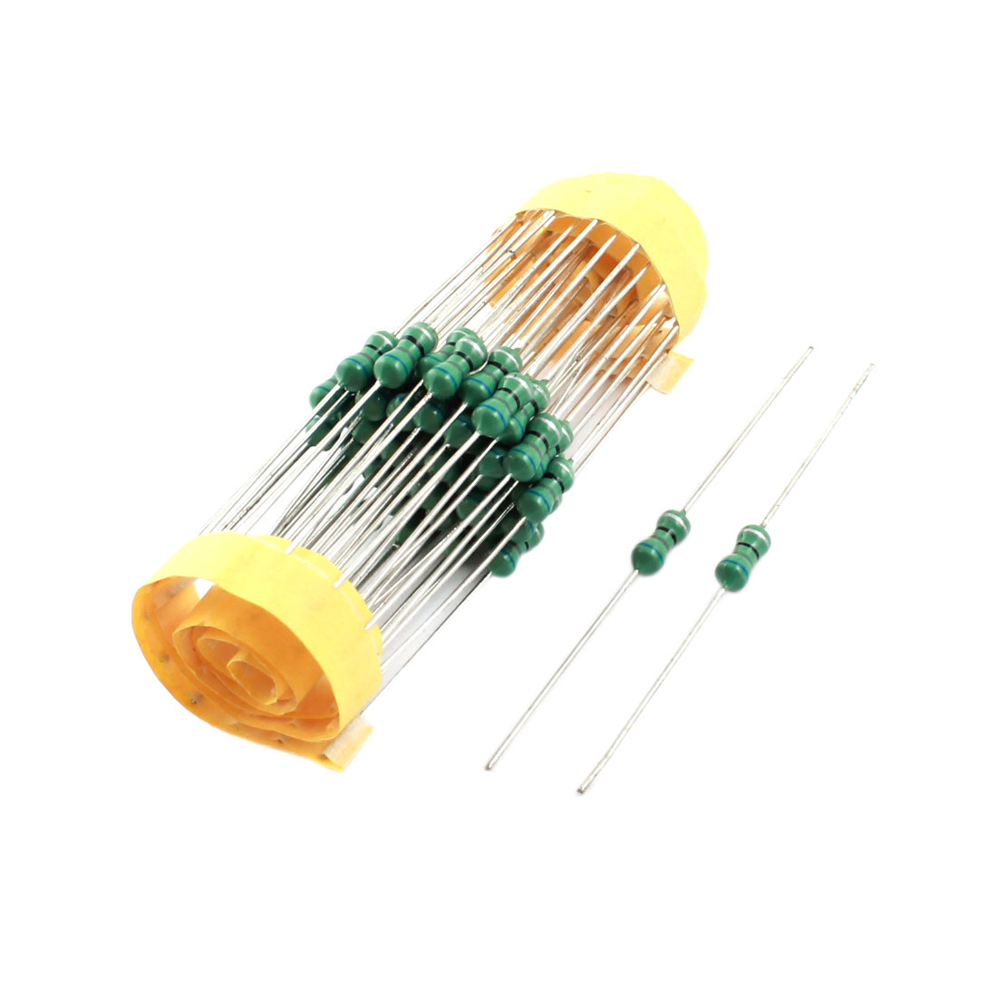 PCB Board Through Hole Mount 680uH 4x10mm 0410 1/2W 10% Tolerance Axial Leaded Color Ring Inductors 50Pcs