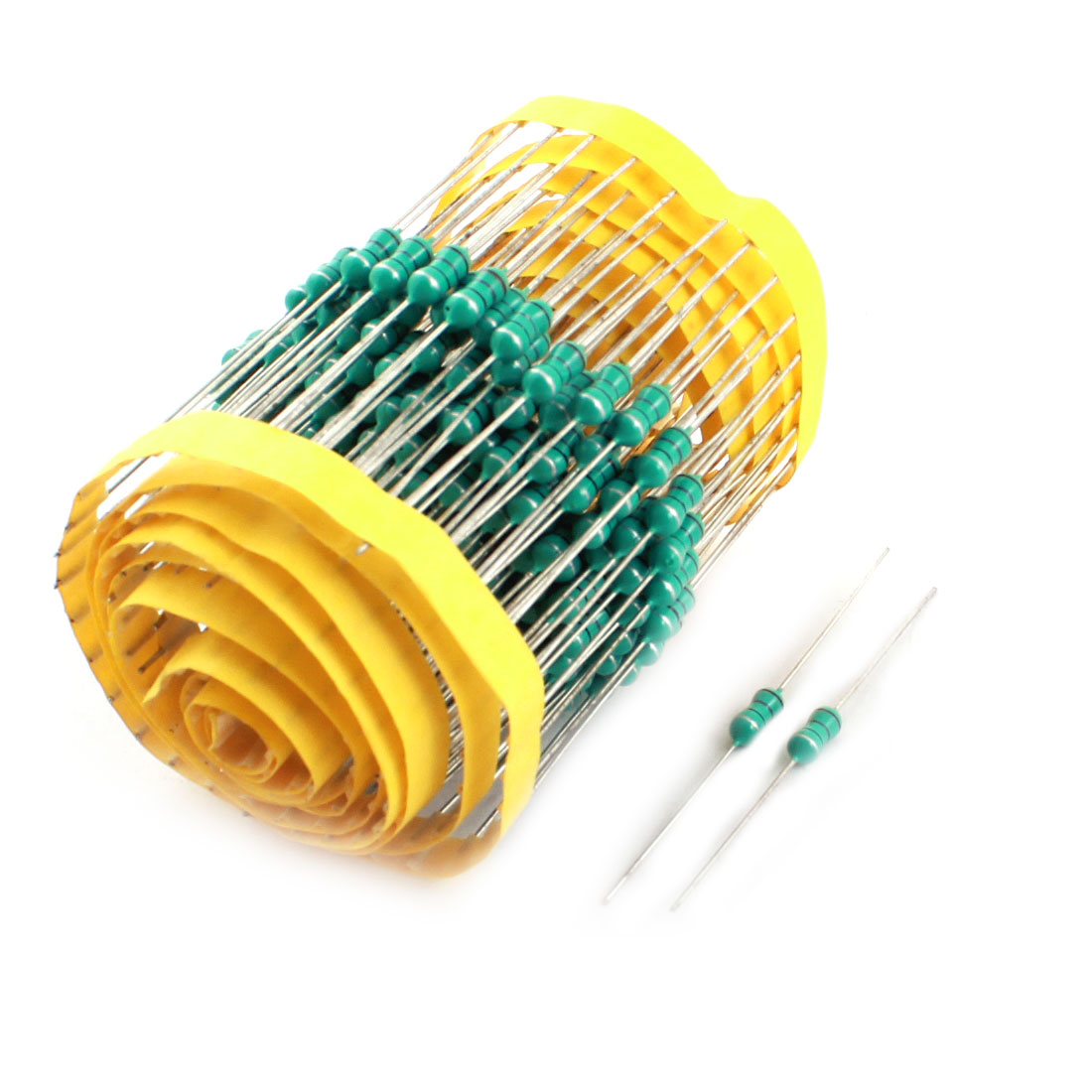 200Pcs Electronic Component 1/2W 18uH 10% Color Ring Inductors 4x10mm