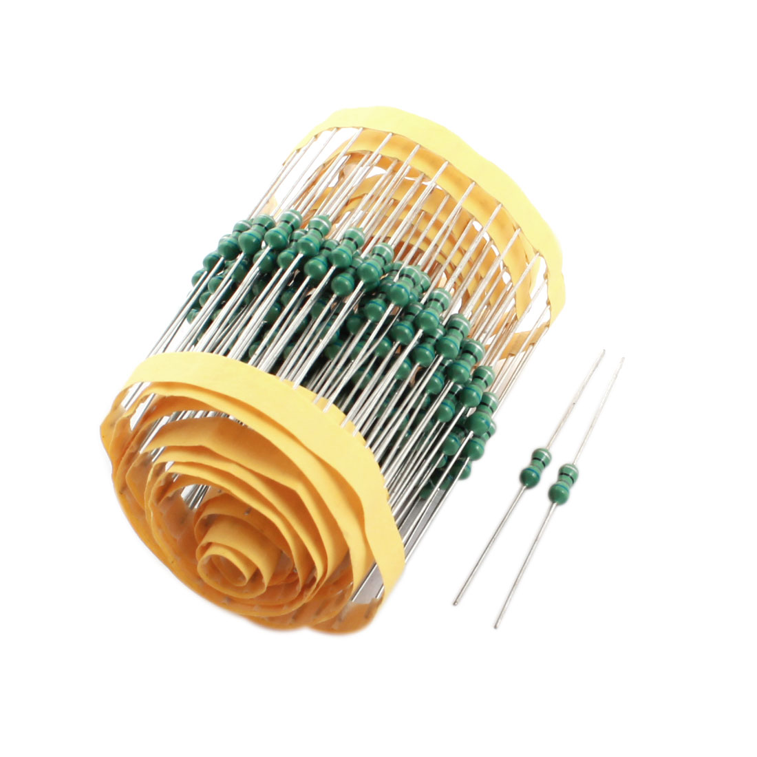 200Pcs Electronic Component 1/2W 68uH 10% Color Ring Inductors 4x10mm
