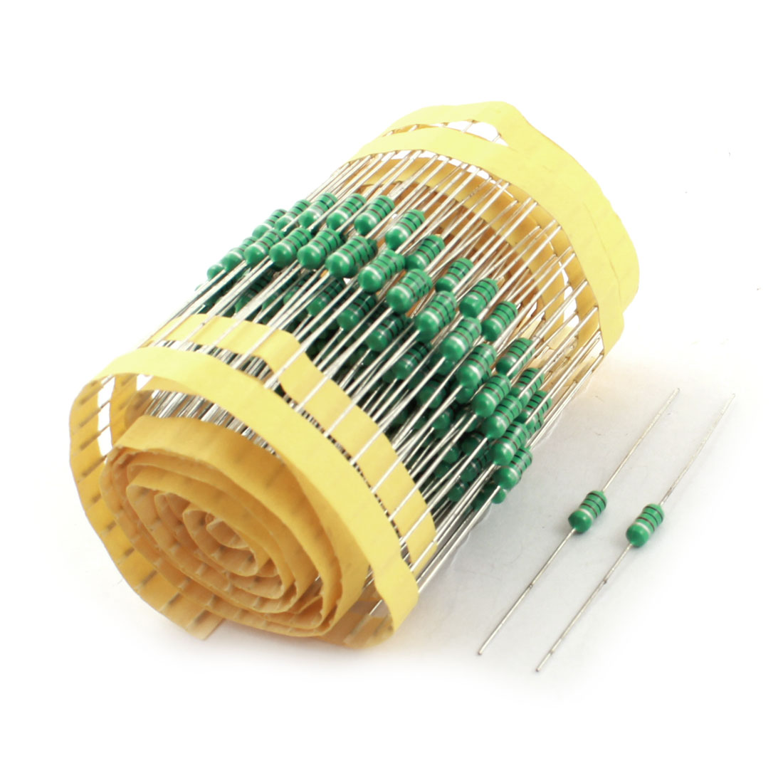 200Pcs Electronic Component 1/2W 1.5mH 10% Color Ring Inductors 4x10mm