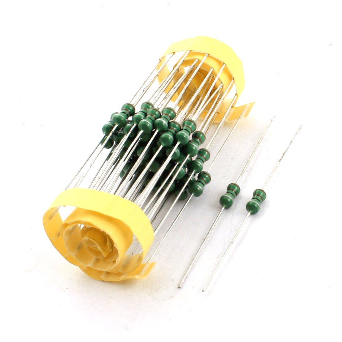 50Pcs Electronic Component 1/2W 22uH 10% Color Ring Inductors 4x10mm