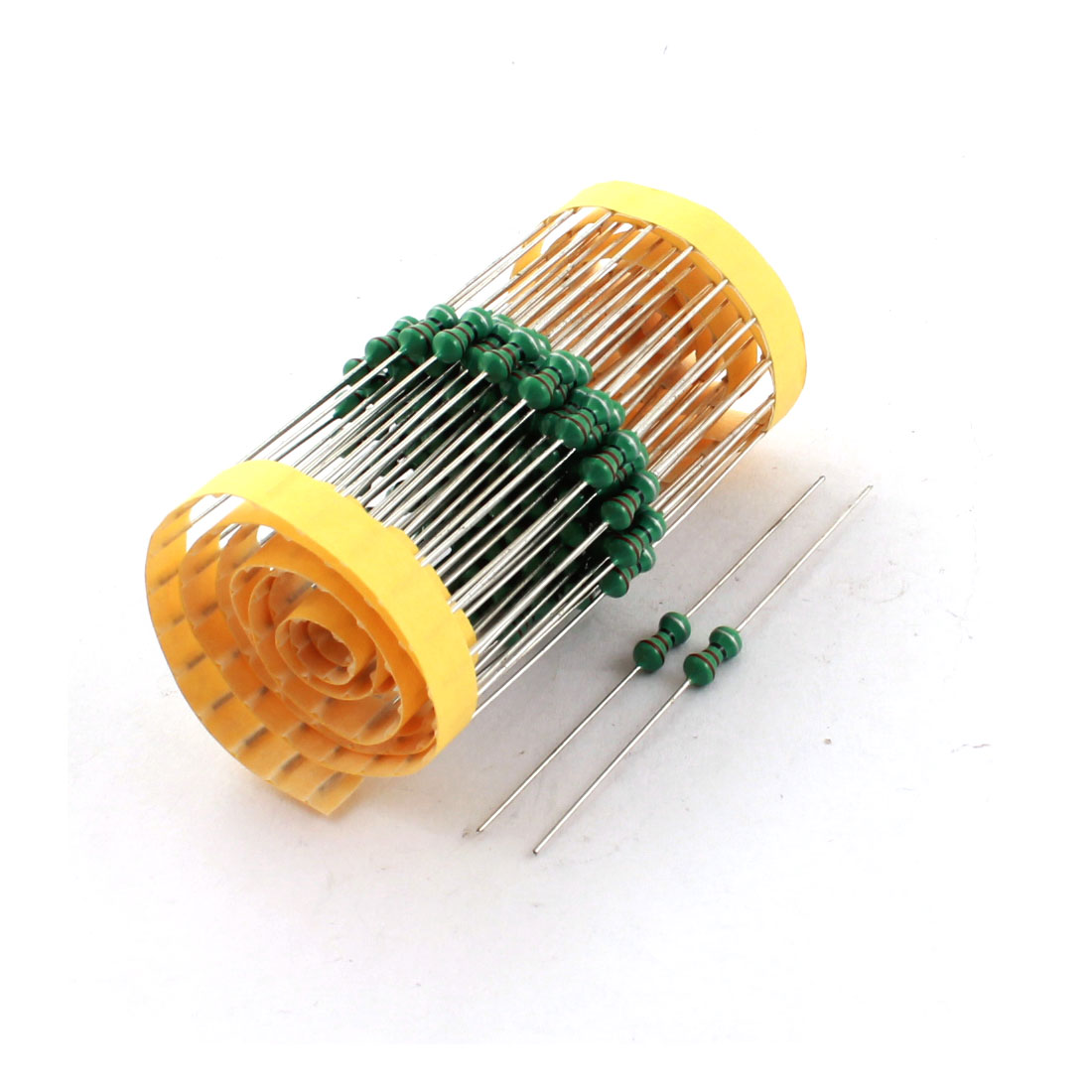100Pcs Electronic Component 1/2W 220uH 10% Color Ring Inductors 4x10mm