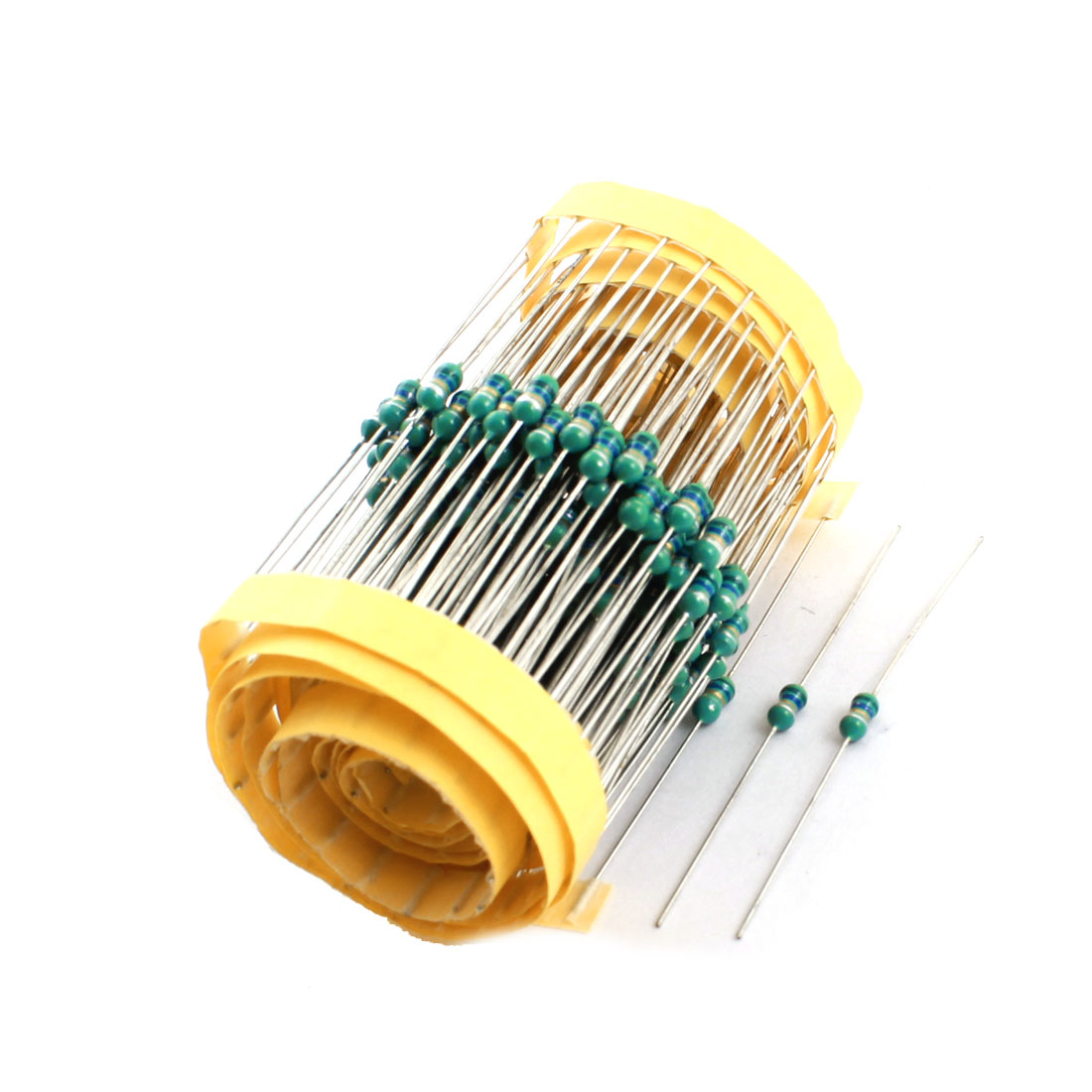 200pcs Through Hole 5.6uH 3x7mm 0307 1/4W 10% Axial Leaded Color Ring Inductors for PCB Board