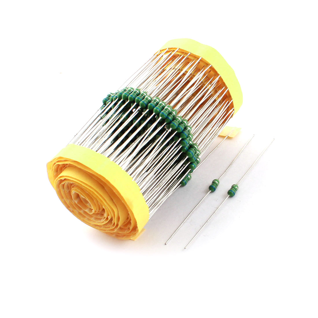 200Pcs PCB Board Electronic 1/4W 68uH 10% Color Ring Inductors 3x7mm