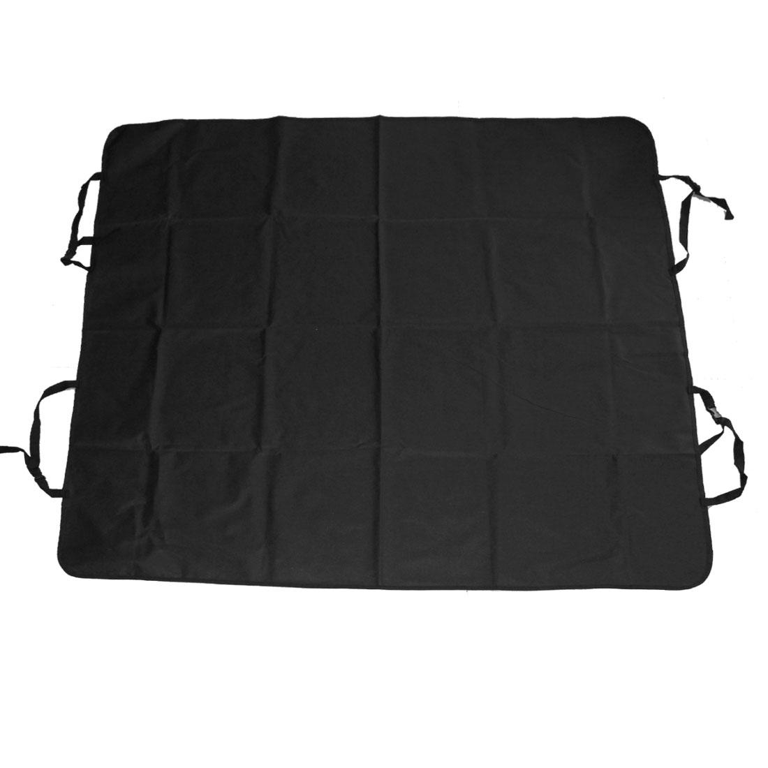 Dog Car Rear Back Seat Cover Pet Mat Blanket Hammock Cushion Black