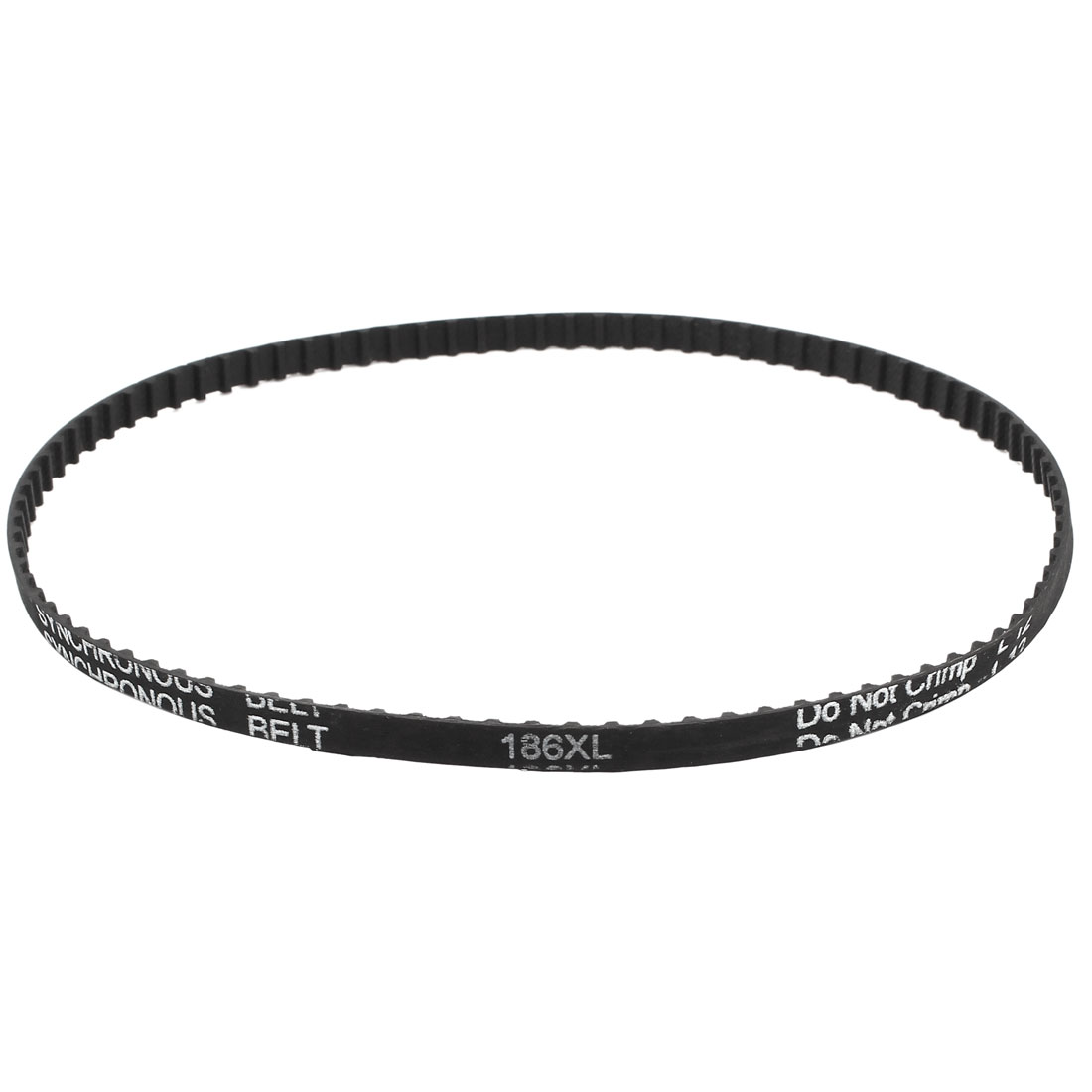 CNC Variable Speed Drive Timing Belt 93 Teeth 6.4mm Width 186XL 025