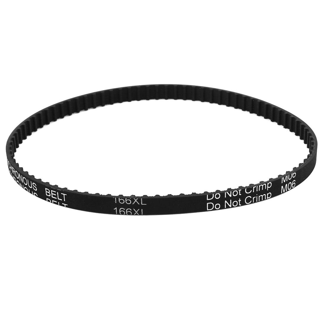 Dishwasher Black Rubber Timing Belt 83 Teeth 7.9mm Wide 166XL 031