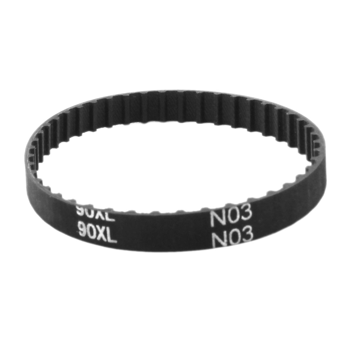 "XL-90 9"" Girth 5.08mm Pitch 45-Teeth 7.9mm Width Black Rubber Single Side Synchronous Timing Belt"