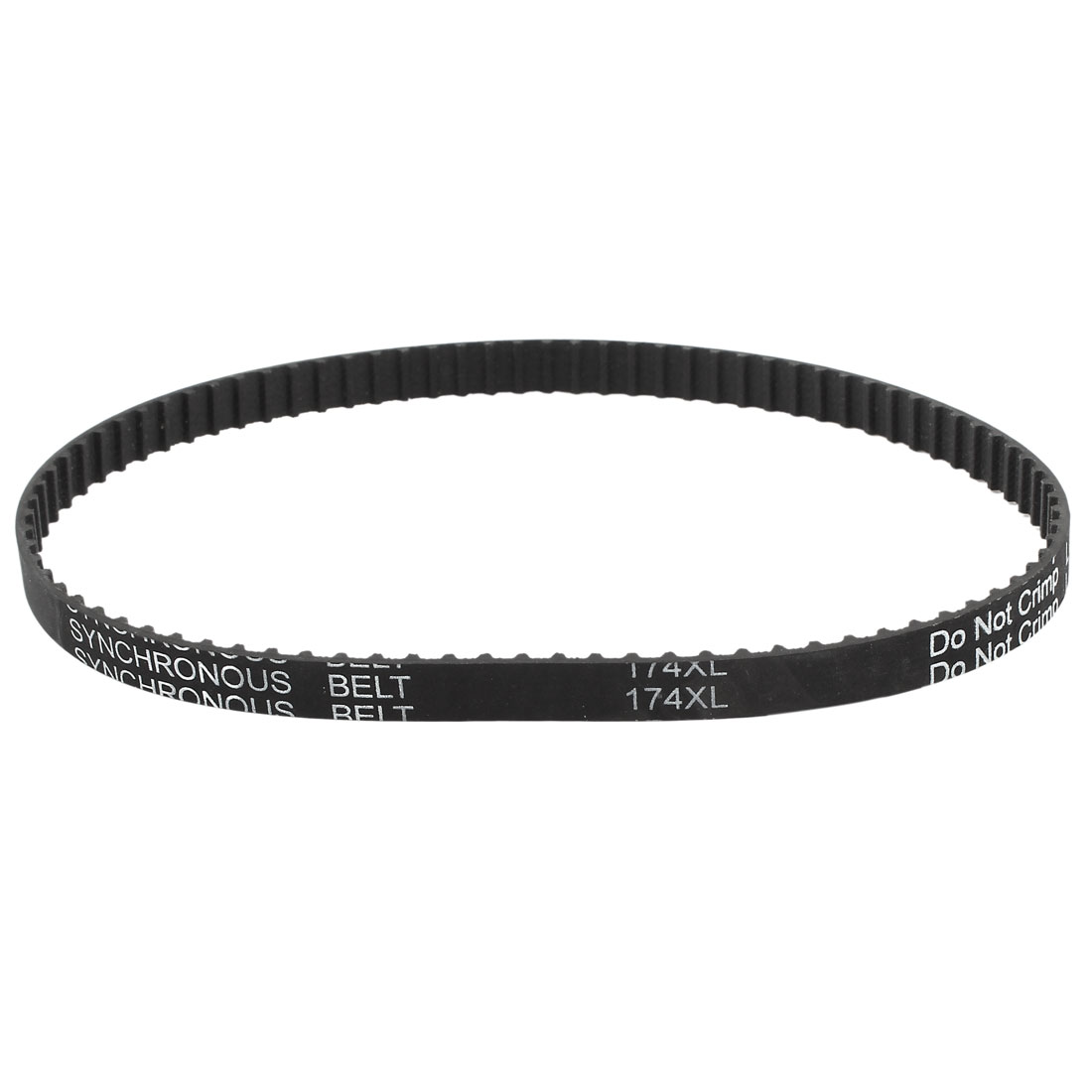 174XL 037 87T 9.5mm Width 5.08mm Pitch Rubber Cogged Industrial Timing Belt
