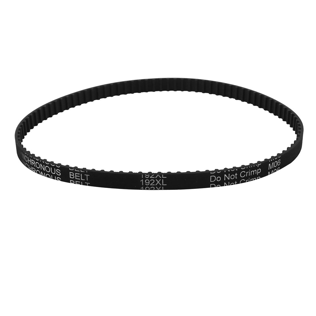 Table Saw 192XL 037 96 Teeth 5.08mm Pitch 9.5mm Width Rubber Timing Belt Black