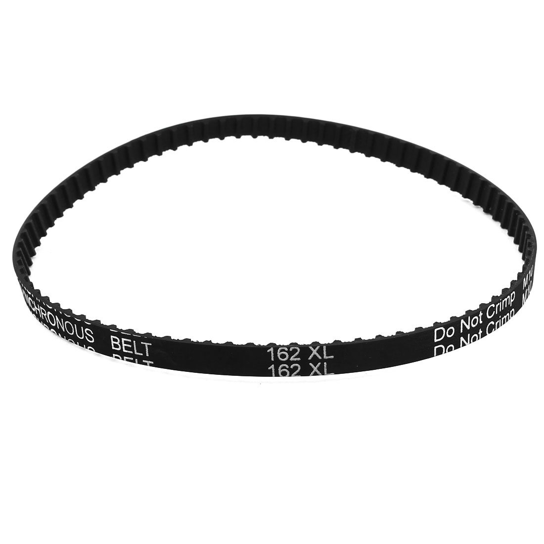 162XL 031 81 Teeth 7.9mm Width Rubber Drying Machine Timing Belt Black