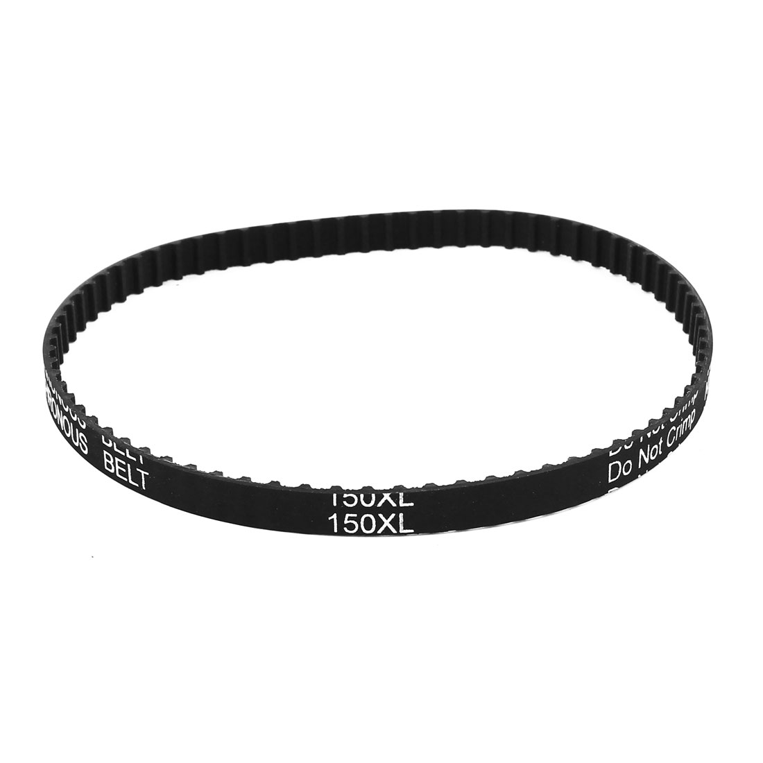 150XL Series 031 75T 7.9mm Wide Rubber Drying Machine Timing Belt Black