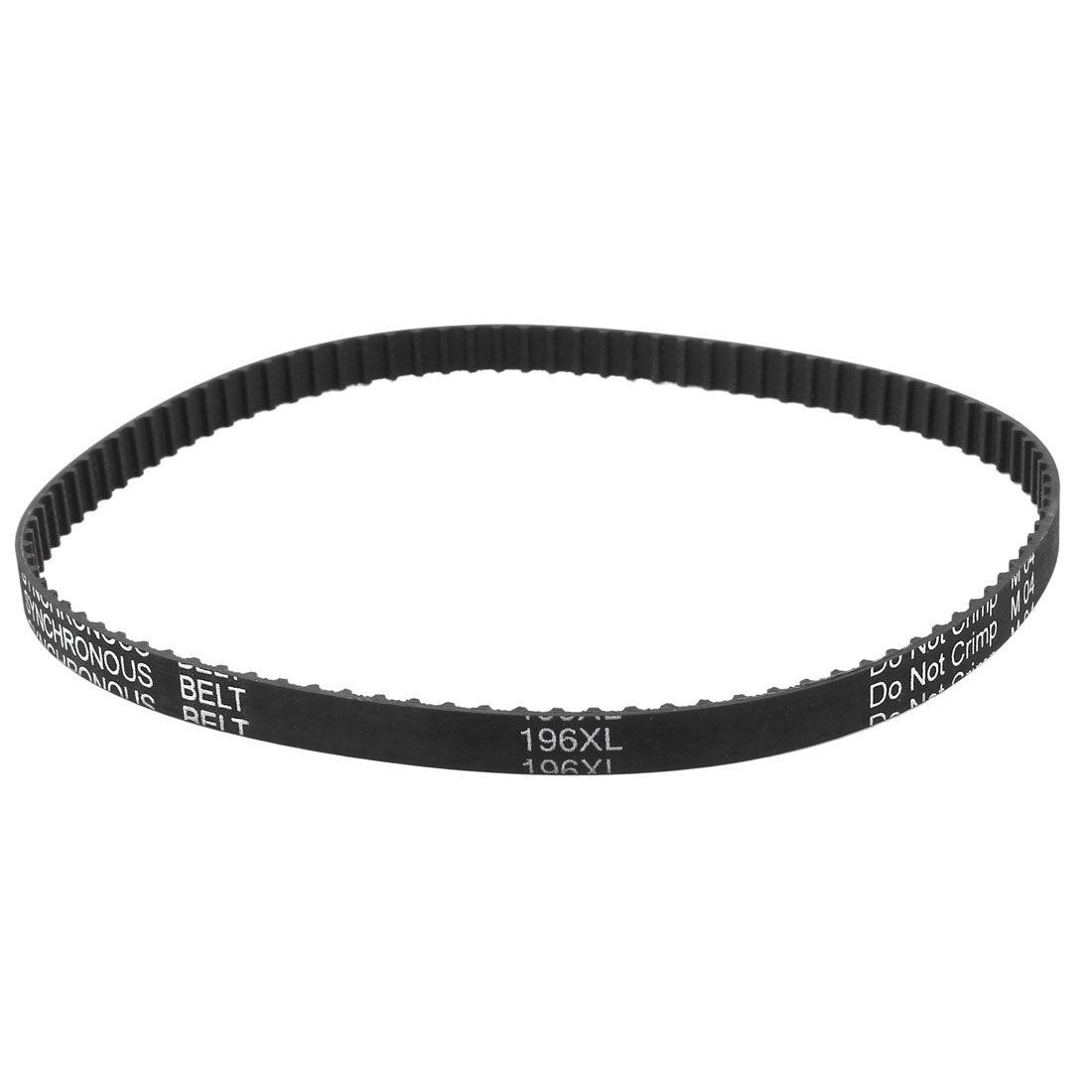 196XL Series 037 9.5mm Wide 98 Teeth 497.84mm Pitch Length Timing Belt Black