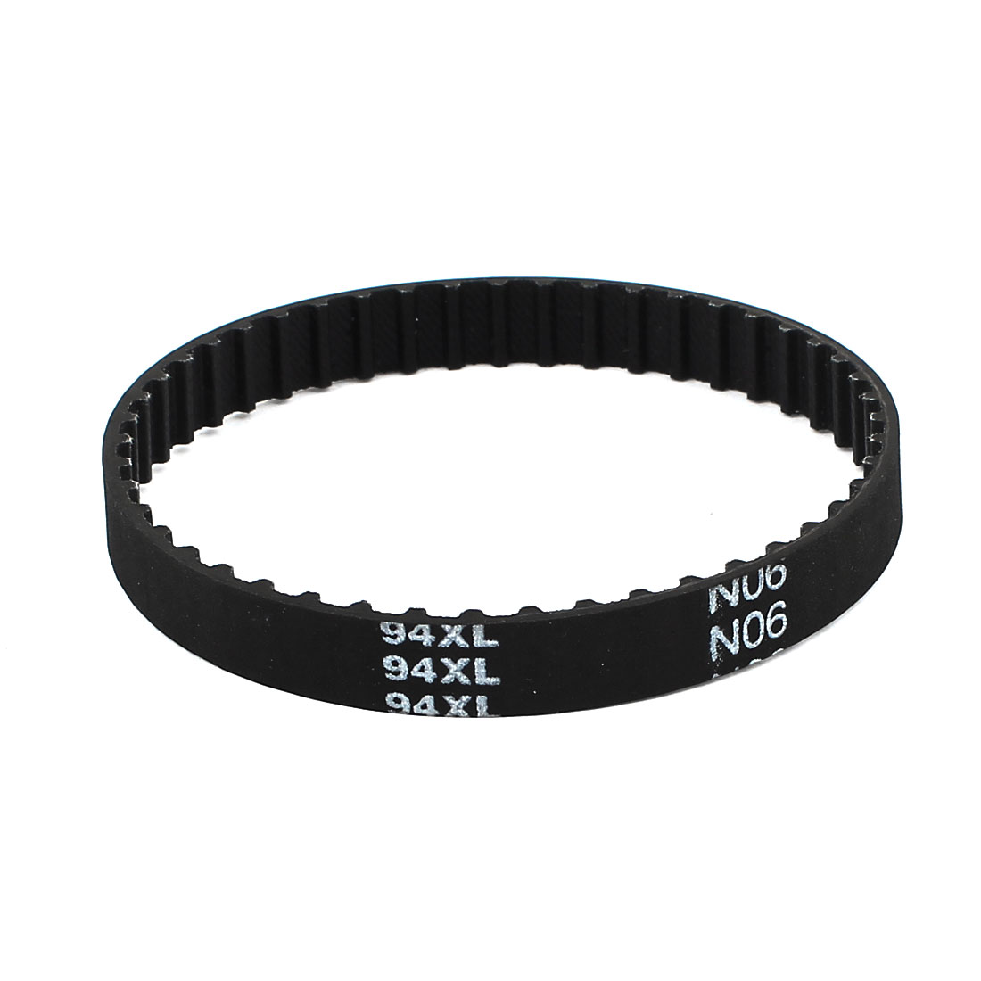94XL 037 47 Teeth 9.5mm Width Rubber Drying Machine Timing Belt Black