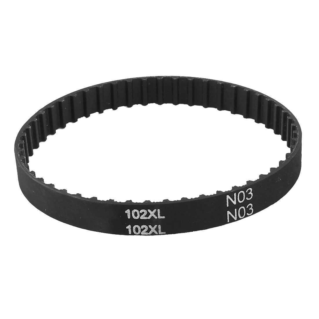 "102XL 037 51 Teeth 5.08mm Pitch 9.5mm Wide 259.08mm 10.2"" Timing Belt Black"