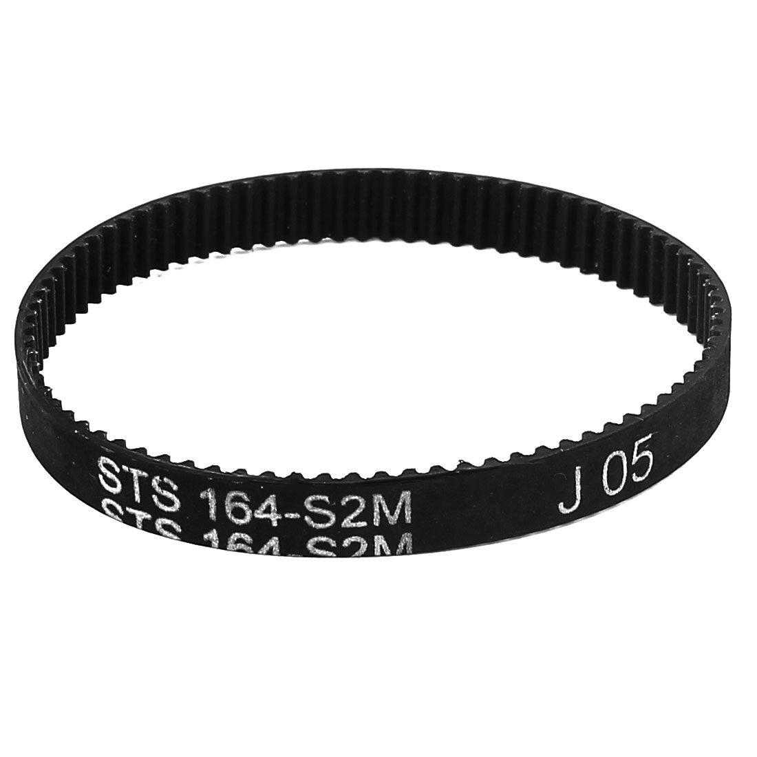 6mm Width 82 Teeth Engine Rubber Timing Belt 164mm Pitch Long S2M-164
