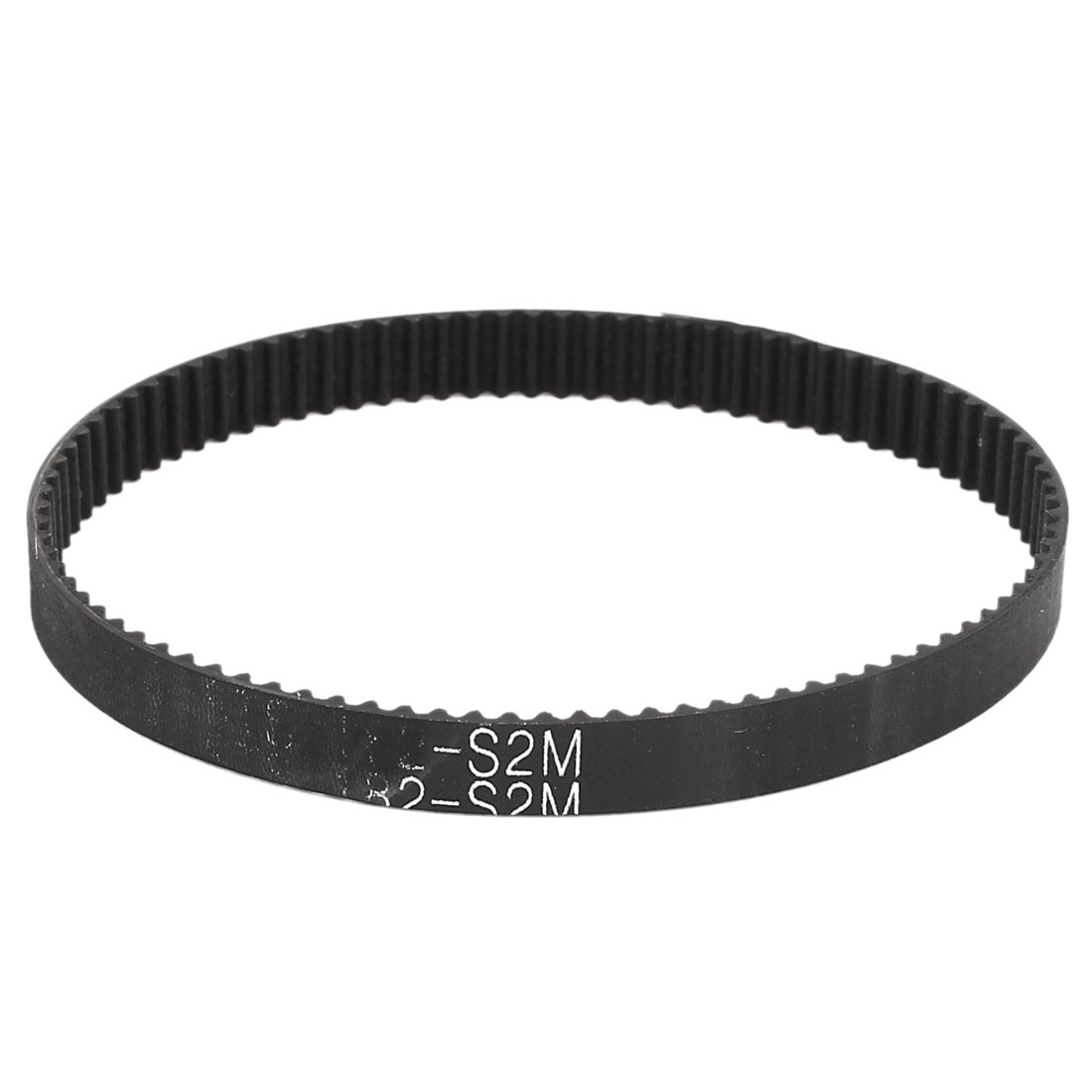 Table Saw S2M-182 91 Teeth 2mm Pitch 6mm Width Rubber Timing Belt Black