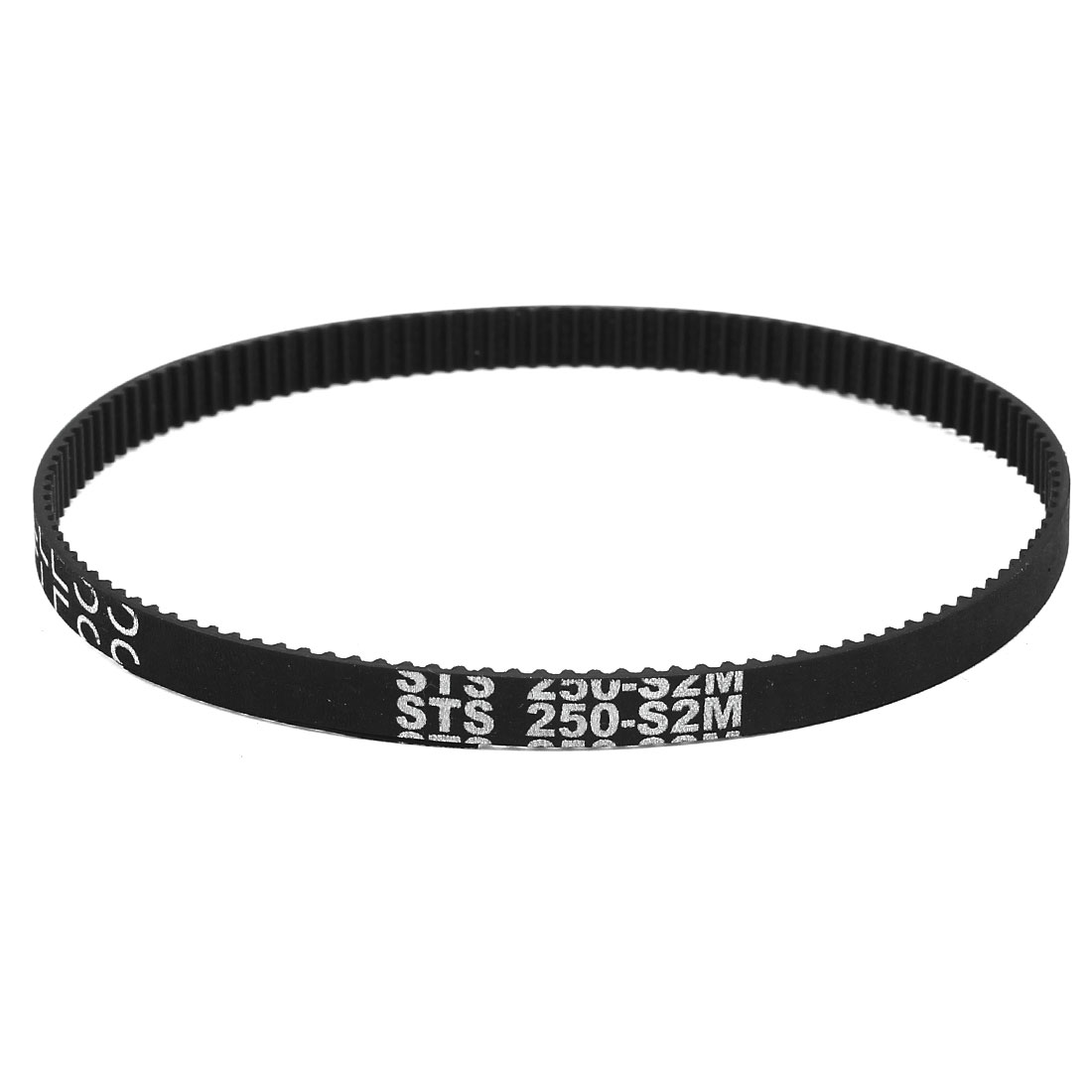 S2M-250 6mm Width 2mm Pitch 125T Engine Rubber Timing Belt for Stepper Motor