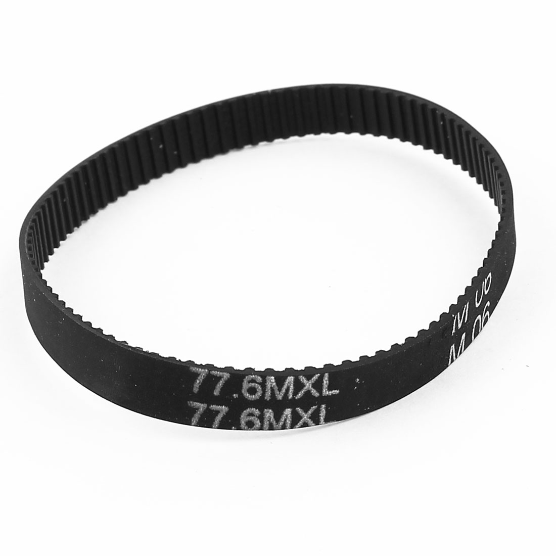 77.6MXL 025 6.4mm Width 98 Teeth 199.14mm Engine Rubber Timing Belt