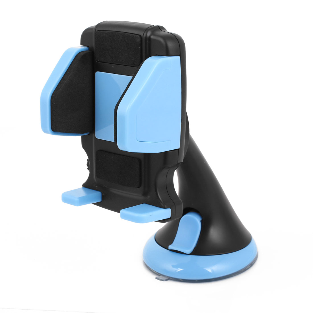 Windshield Dashboard Black Blue Suction Base Car Mount Cradle Holder for Phone GPS