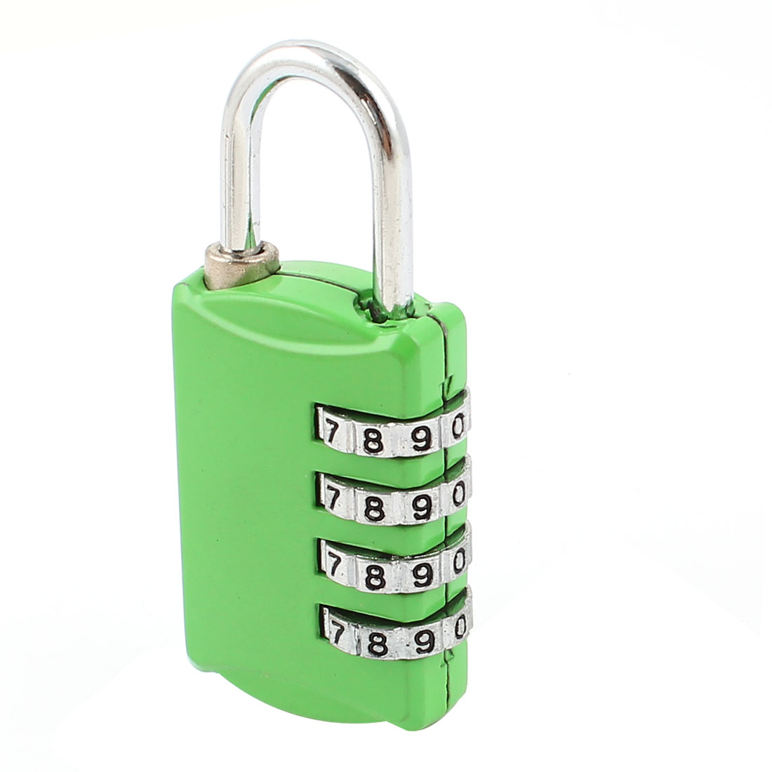 Green 4 Digital Security Resettable Luggage Combination Password Padlock Lock