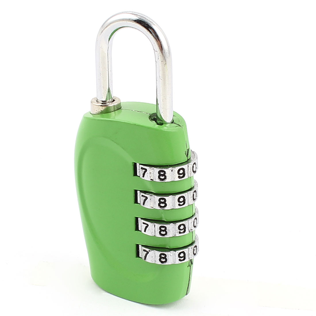 Backpack Bag 4 Digits Combination Dial Lock Password Safety Padlock Green