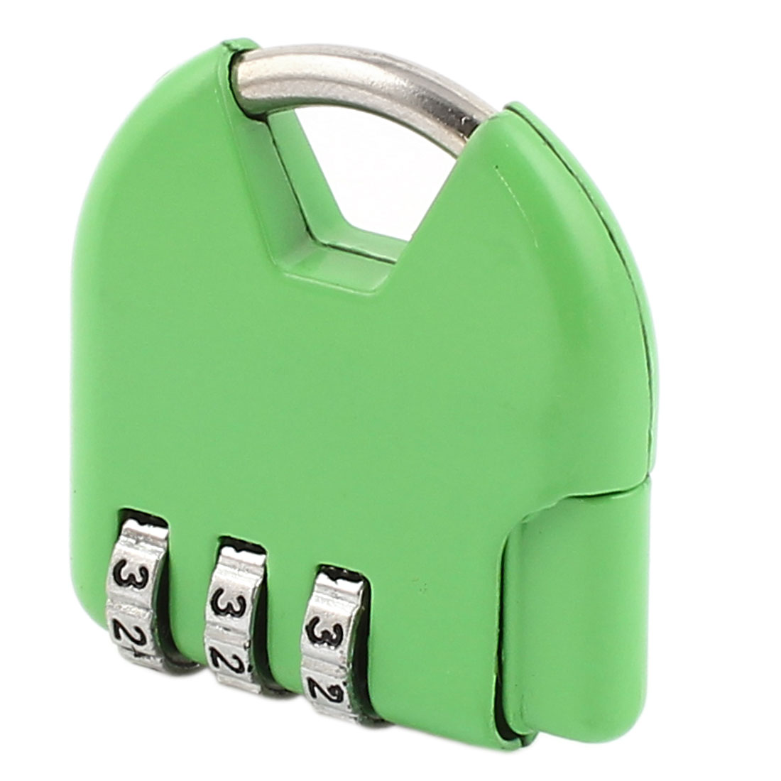 Suitcase Resettable 3 Digits Combination Password Safety Padlock Green