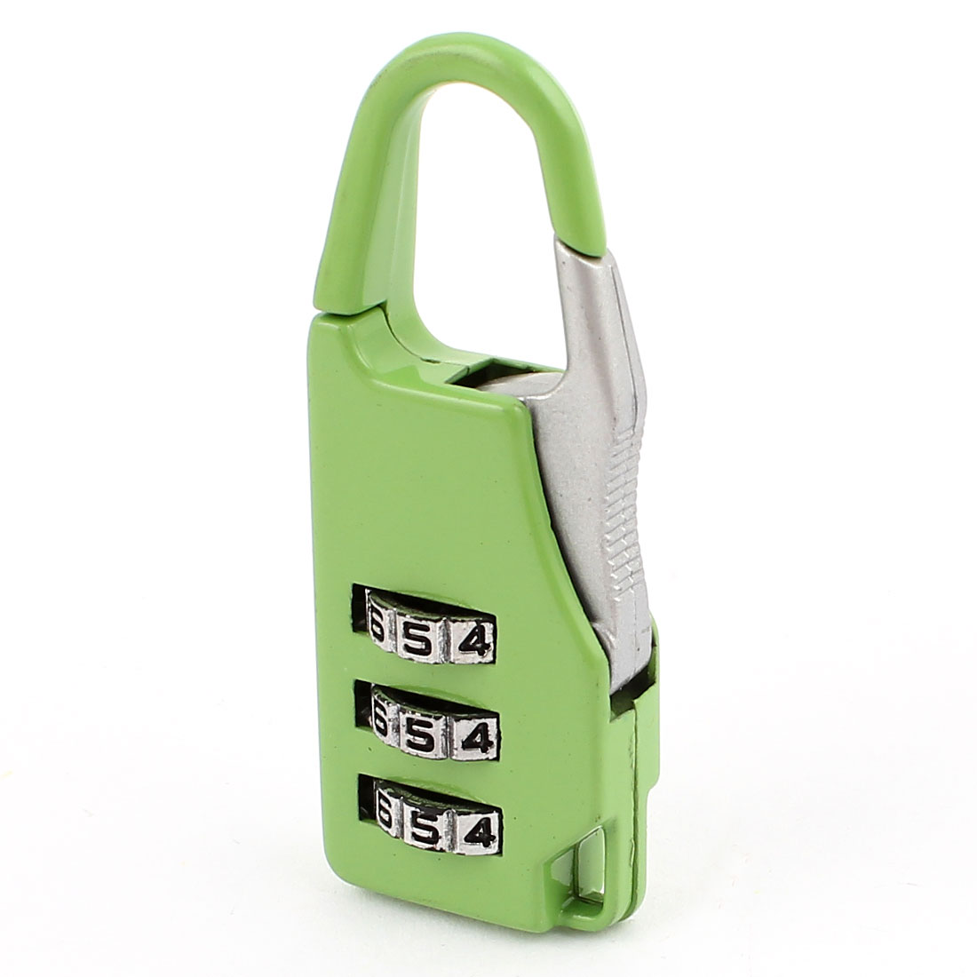 Baggage Packsack 3 Digits Security Combination Dial Lock Password Padlock Green