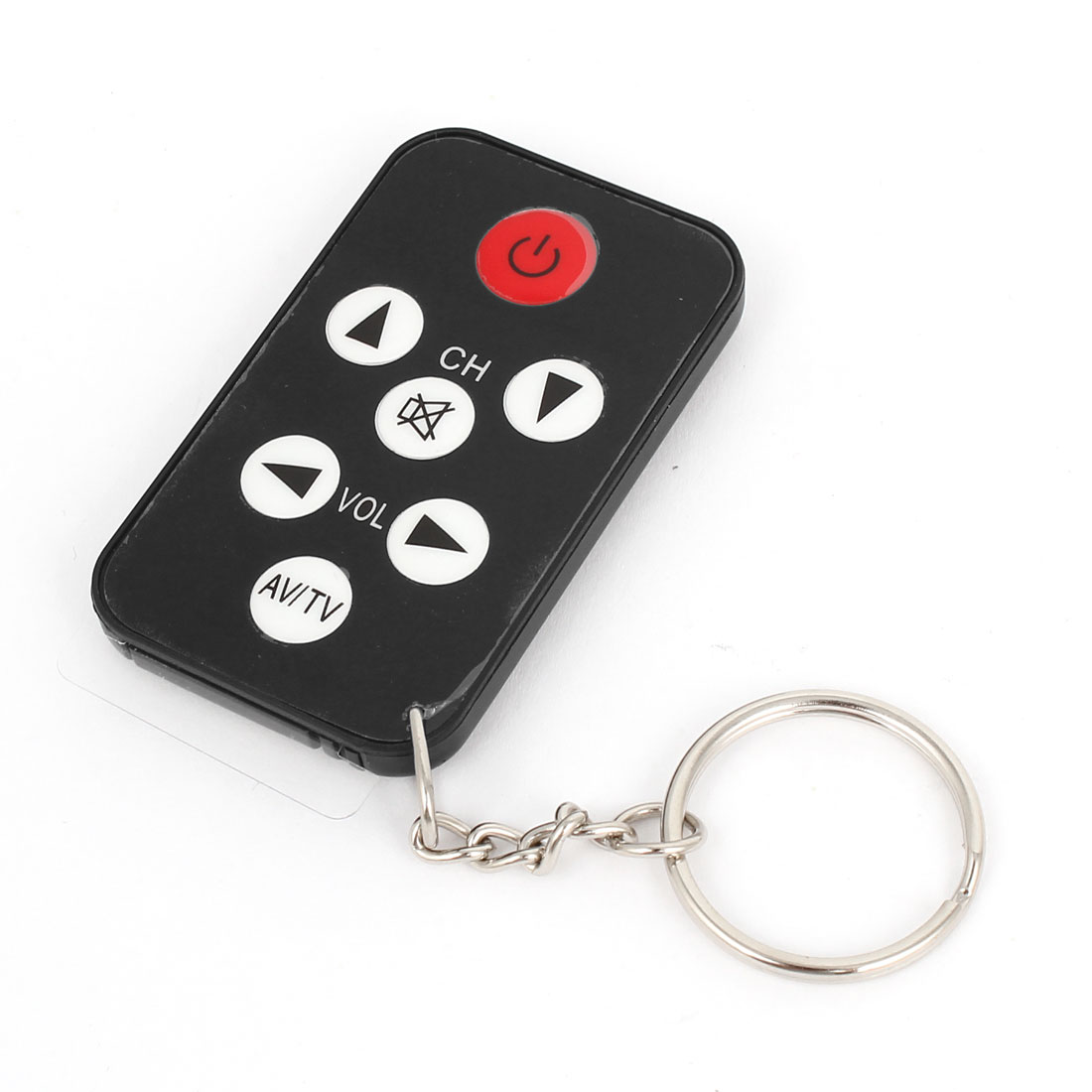 Portable Mini Key Ring Universal Mini IR TV Wireless Remote Control