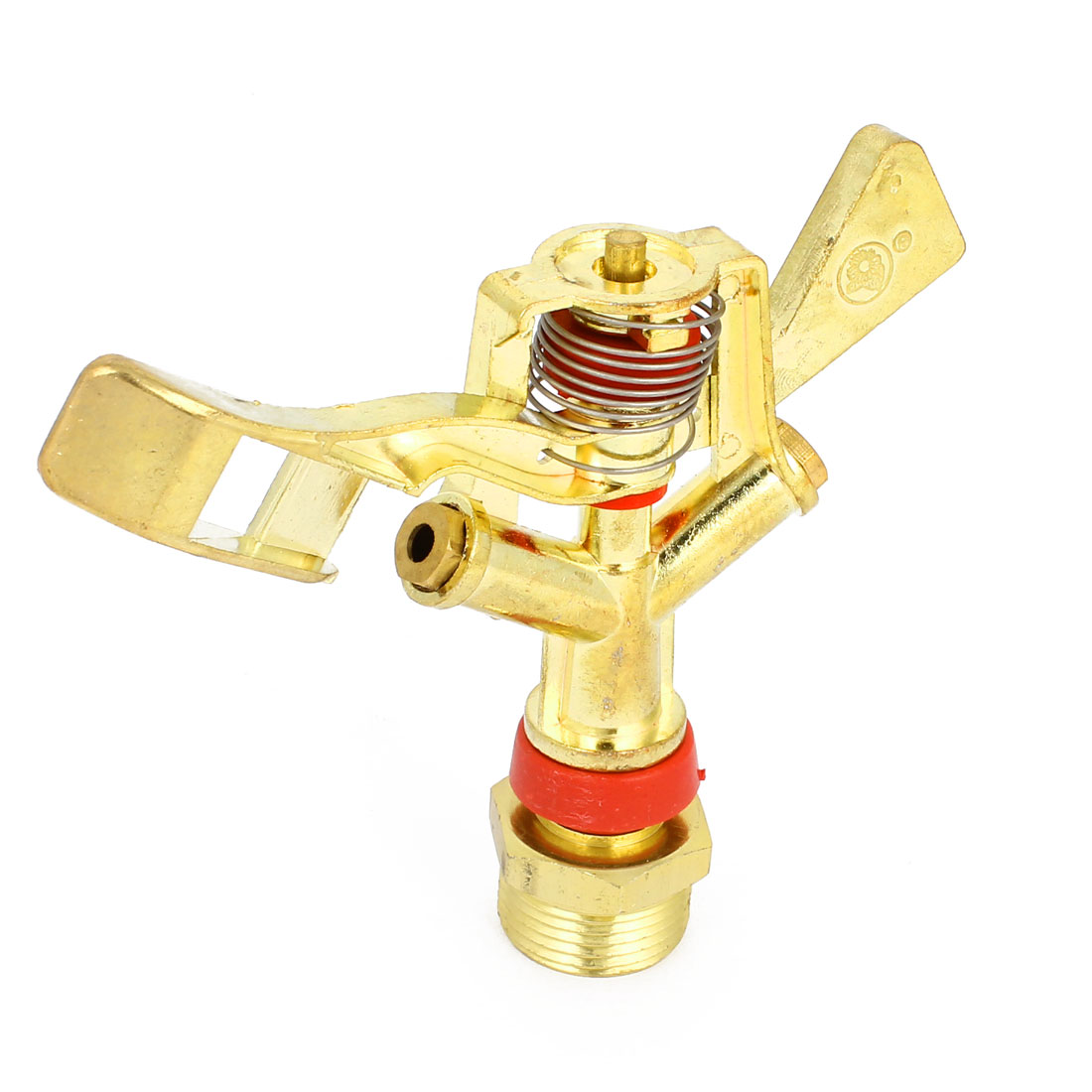 Adjustable Metal Lawn Sprayer Nozzle 3/4 PT 10-20m Spraying Diameter