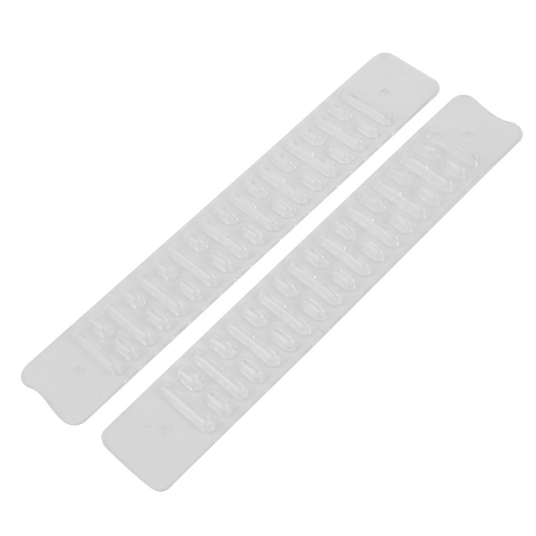 Soft Pair Clear Plastic Wear Preventing Bumping Buffer Desk Corner Guard