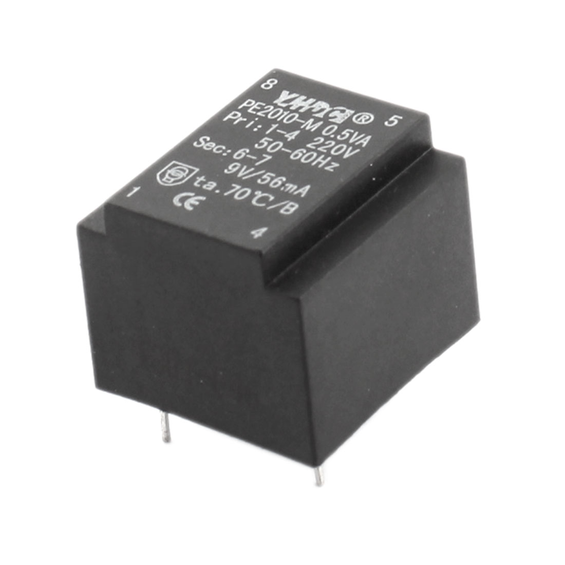 AC 220V to 9V 50-60Hz 56mA 4-pin Microwave Oven Power Transformer