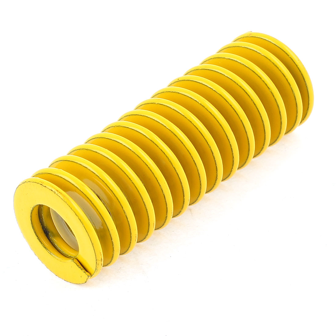 Yellow Alloy Steel Light Load Press Flat Coil Compression Die Spring 18mm x 9mm x 50mm