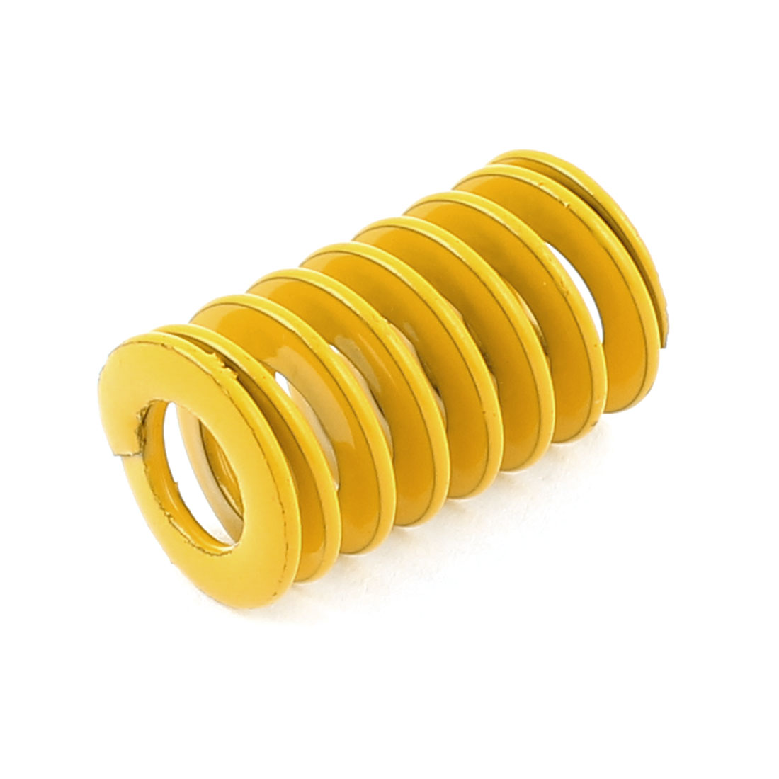 Yellow Alloy Steel Light Load Press Flat Coil Compression Die Spring 12mm x 6mm x 20mm