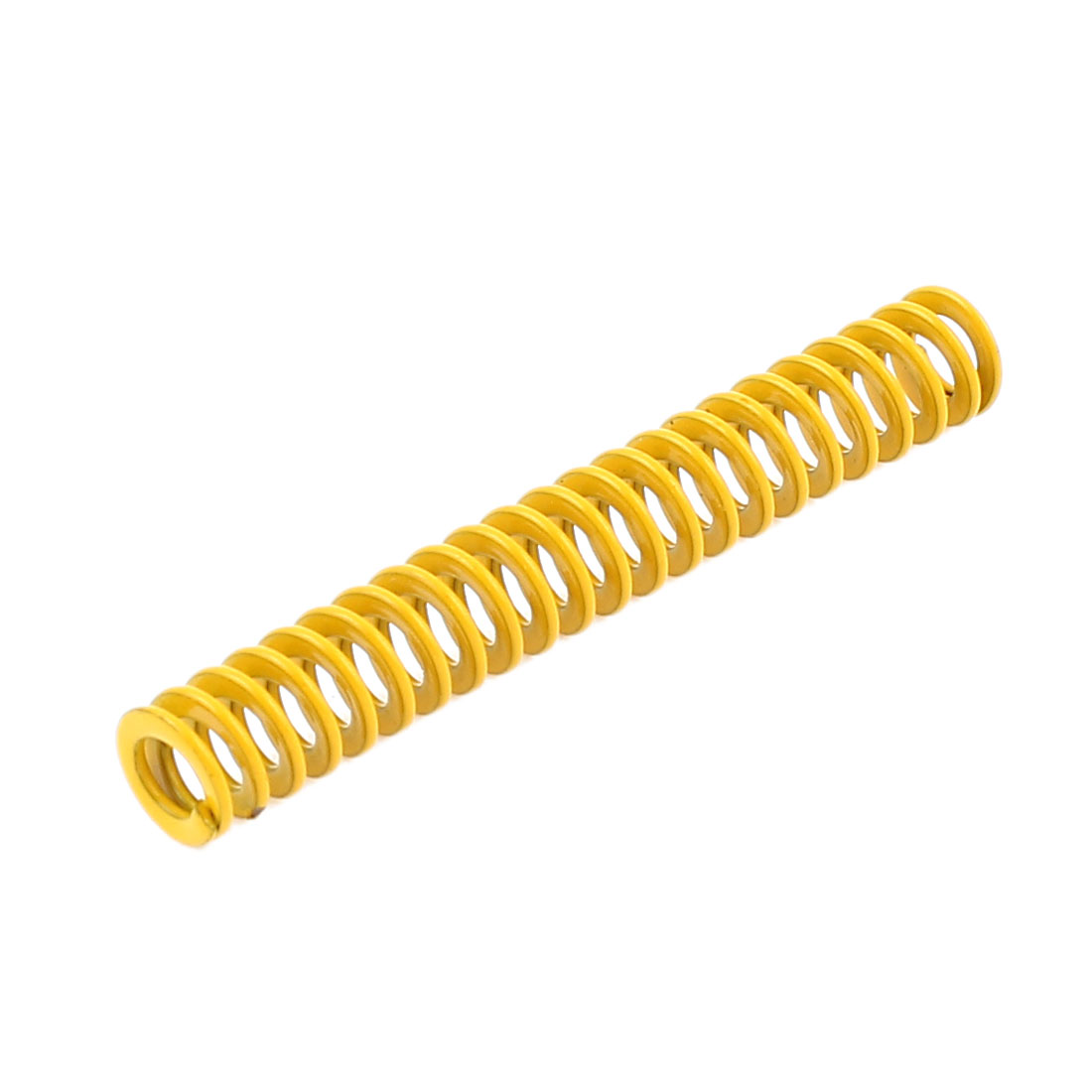Yellow Alloy Steel Light Load Press Flat Coil Compression Die Spring 6mm x 3mm x 40mm