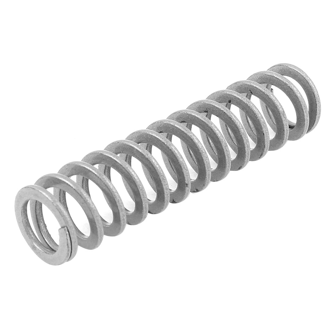 Silver Tone Alloy Steel Extra Light Load Press Compression Coil Mould Die Spring 17mm x 11mm x 70mm