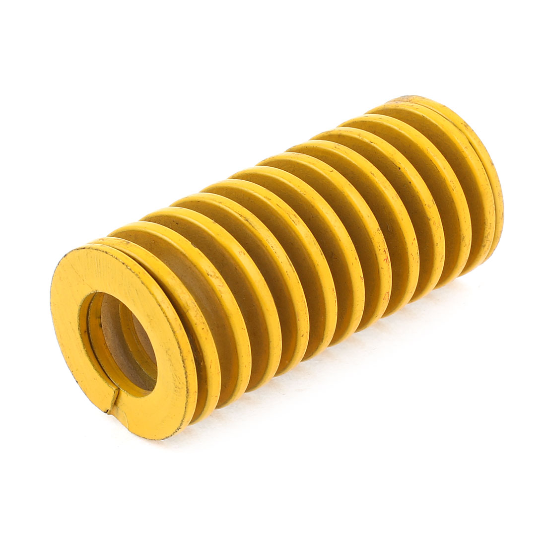 Yellow Alloy Steel Light Load Press Flat Coil Compression Die Spring 35mm x 17.5mm x 75mm