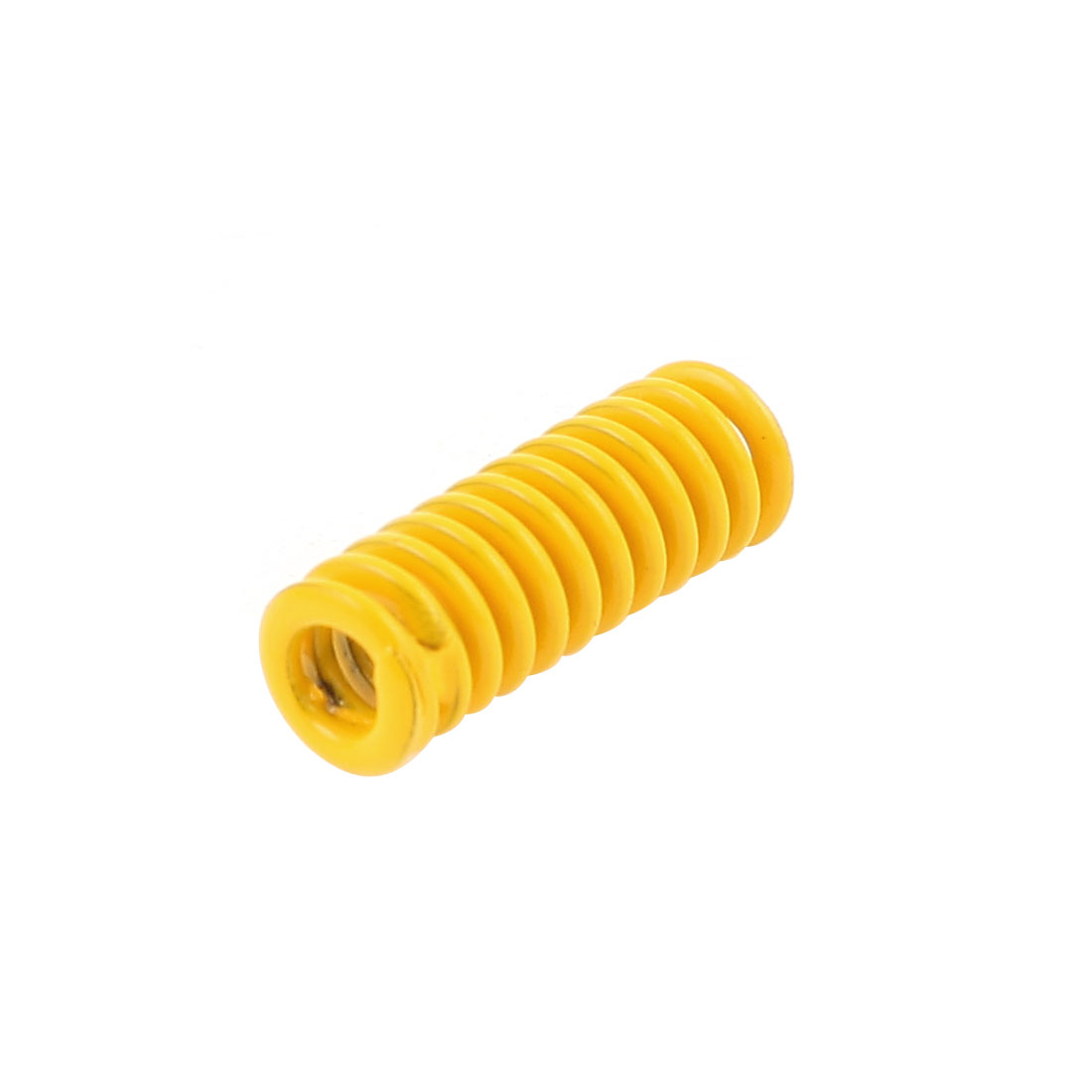 Yellow Alloy Steel Light Load Press Flat Coil Compression Die Spring 6mm x 3mm x 15mm