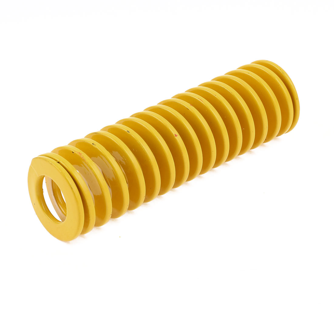 Yellow Alloy Steel Light Load Press Flat Coil Compression Die Spring 30mm x 15mm x 100mm