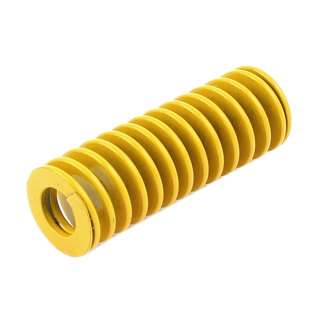 Yellow Alloy Steel Light Load Press Flat Coil Compression Die Spring 16mm x 8mm x 45mm