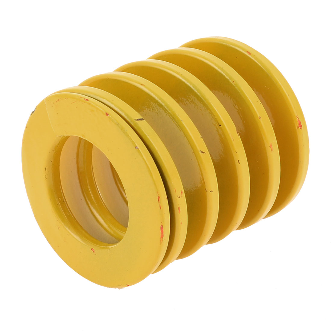 Yellow Alloy Steel Light Load Press Flat Coil Compression Die Spring 50mm x 25mm x 50mm