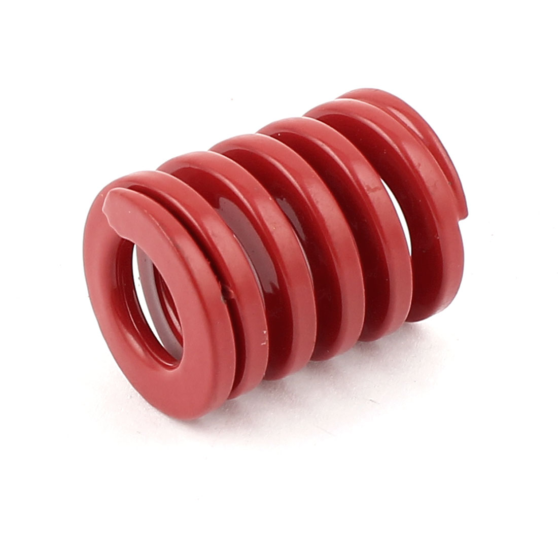 Red Alloy Steel Medium Load Press Flat Coil Compression Die Spring 20mm x 10mm x 25mm