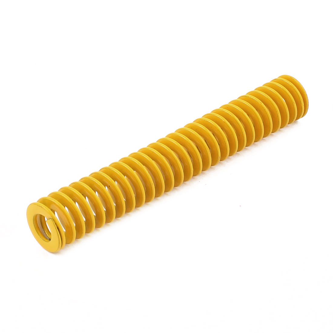 Yellow Alloy Steel Light Load Press Flat Coil Compression Die Spring 12mm x 6mm x 75mm