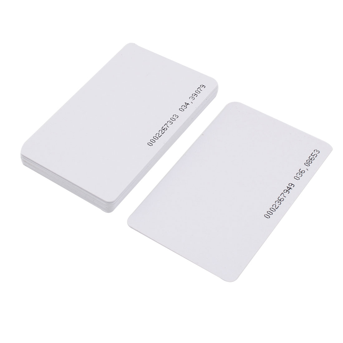 10pcs Contactless EM4100 125kHz RFID Proximity ID Smart Entry Access Card White