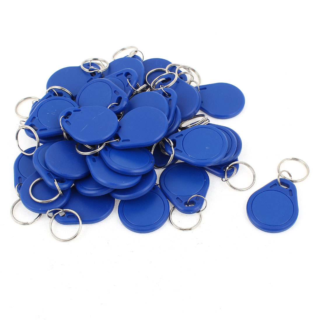 40pcs Entry Access 13.56MHz Smart IC Proximity Tag Keyfob Keyring