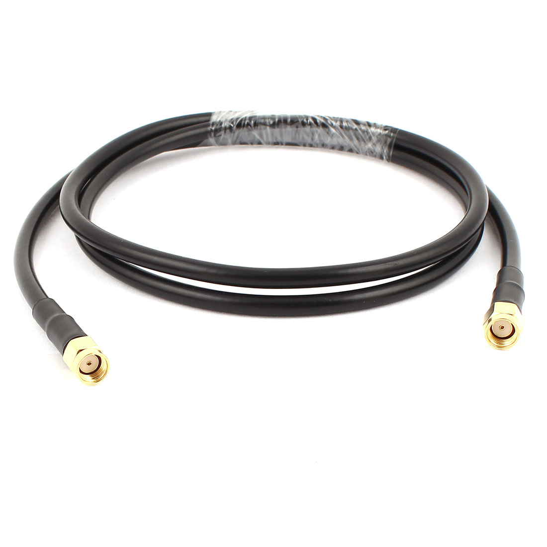RP-SMA Male to Male Antenna Coaxial RG58 Cable Connector 1Meter Length